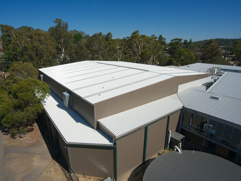 Commercial Roof Replacement Eltham Acr Roofing