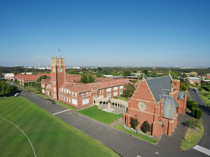 Asbestos Roof Replacement Geelong Grammar Acr Roofing