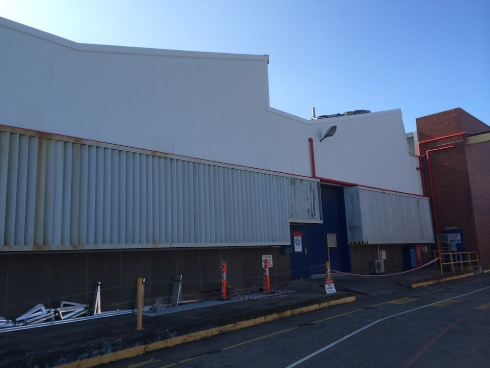 Commercial Wall Replacement Coburg Acr Roofing
