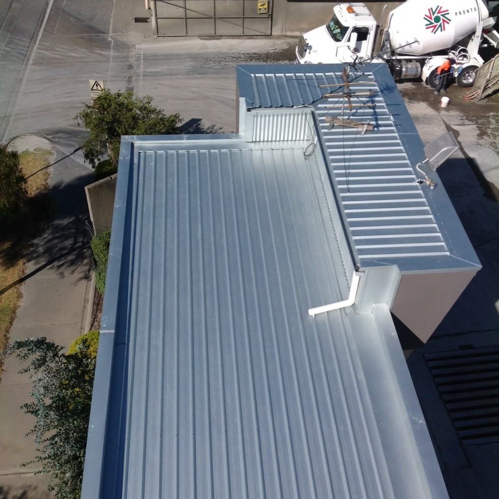 Commercial Roof Replacement Port Melbourne Acr Roofing