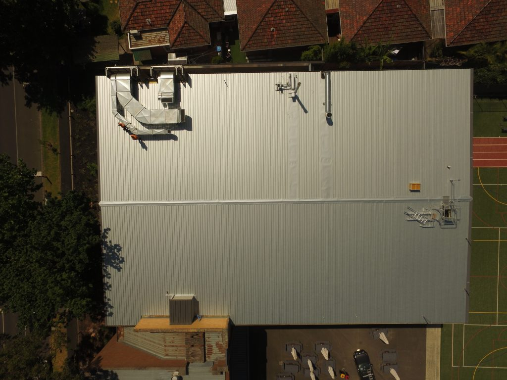 Roof Replacement Melbourne Star Of The Sea College Acr