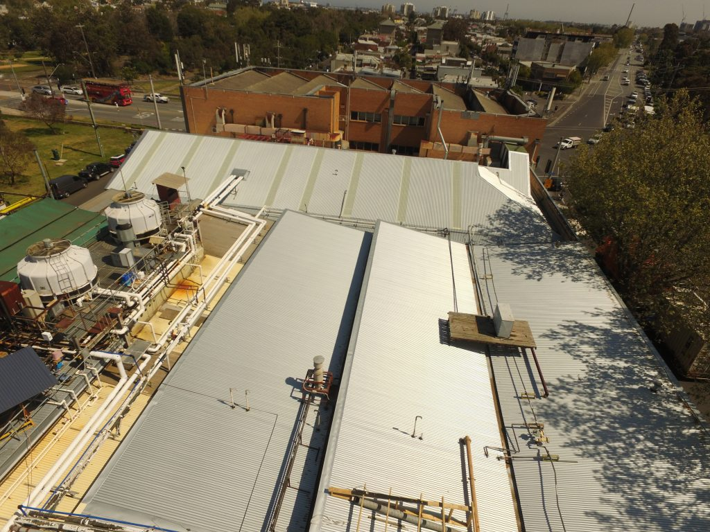 Roof Replacement Project Port Melbourne Acr Roofing